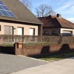 Vago-Schermen | Cortenstaal - Brievenbus